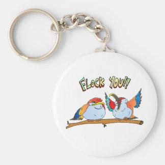 Flock You!! Key Chain
