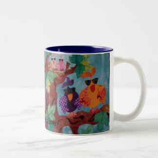 """""""Flocked"""" Coffee Mug"""