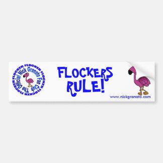 Flockers Rule - Bumper Sticker Car Bumper Sticker