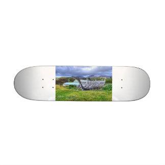 Flodabay, Isle Of Harris Custom Skateboard