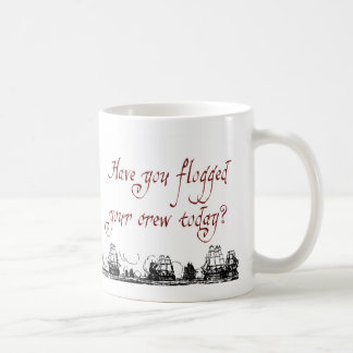Flogged Crew v3 Classic White Coffee Mug