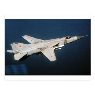Flogger soviético MiG-23 Postales