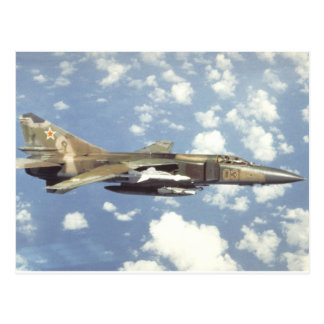 Flogger soviético MiG-23 Tarjetas Postales