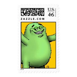 FloGrimace-Green Stamp