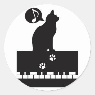 Floh_Walzer Classic Round Sticker