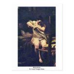 Flohsucherin By Crespi Giuseppe Maria Postcard