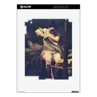 Flohsucherin de José Maria Crespi iPad 2 Skins