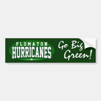 Flomaton High School; Hurricanes Car Bumper Sticker