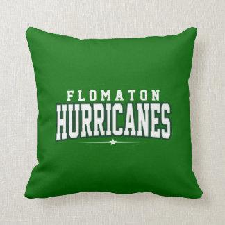 Flomaton High School; Hurricanes Throw Pillow