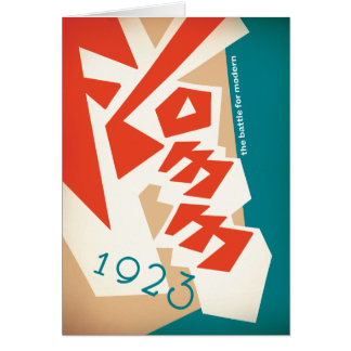 FLOMM 1923 CARD