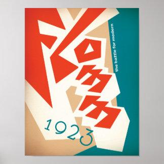 FLOMM 1923 POSTER
