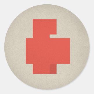 FLomm Heroes: POSITAVO! Classic Round Sticker