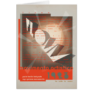FLomm movimento artistico Card