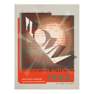FLomm movimento artistico Postcard