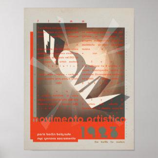 FLomm movimento artistico Poster