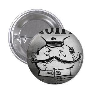 FLomm Villains: GRAND GENERAL HUFFE! Pinback Buttons
