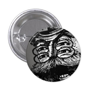 FLomm Villains: Screaming ThWINGh! Pinback Button