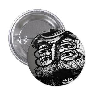 FLomm Villains: Screaming ThWINGh! Pinback Button