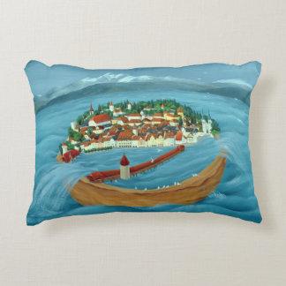 Flood 1999 accent pillow