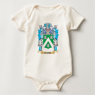 Flood Coat of Arms - Family Crest Baby Bodysuit