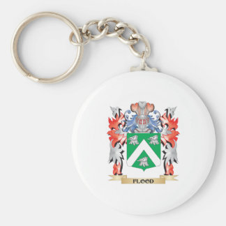 Flood Coat of Arms - Family Crest Keychain