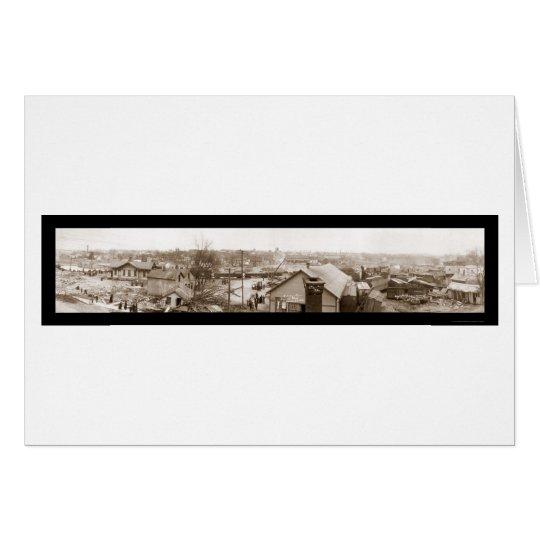 Flood Delaware Ohio Photo 1913 Card
