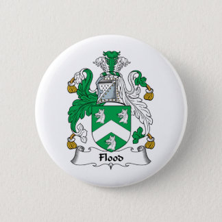 Flood Family Crest Button