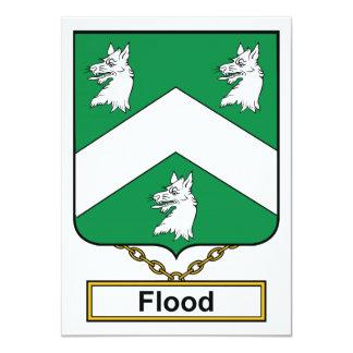 Flood Family Crest Card