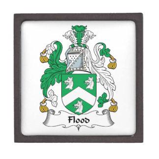 Flood Family Crest Premium Jewelry Box