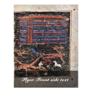 Flood, Fr: Manuscrit Du Pentateuque D'Ashburnham. Personalized Flyer