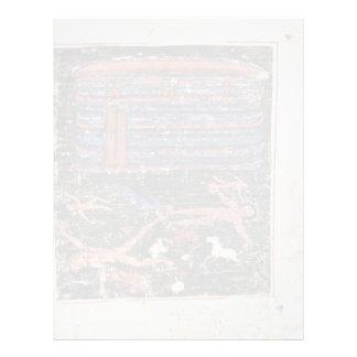 Flood, Fr: Manuscrit Du Pentateuque D'Ashburnham. Letterhead Design