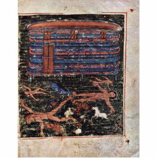 Flood, Fr: Manuscrit Du Pentateuque D'Ashburnham. Photo Cut Out