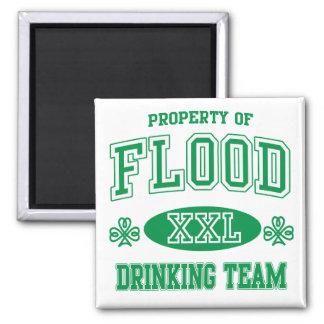 Flood Irish Drinking Team Refrigerator Magnets