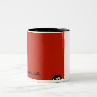 Flood watch down south Two-Tone coffee mug