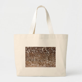 Flooded Cotton Gossypium Field Large Tote Bag