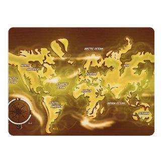 Flooded Earth Map Card
