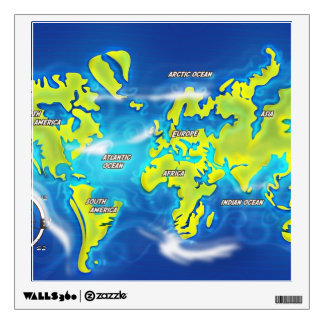 Flooded Earth Map Gifts On Zazzle - Flooded earth map