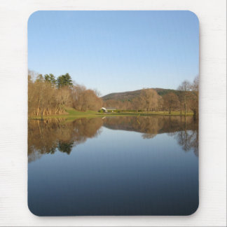 Flooded Golf Course Mouse Pad