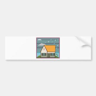 Flooded House Bumper Sticker