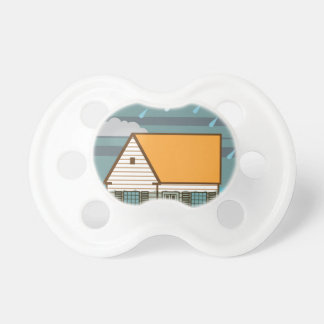 Flooded House Pacifier