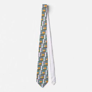 Flooded House Tie