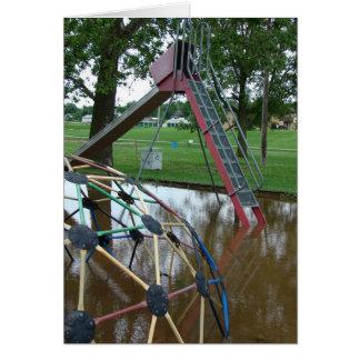 Flooded Playground Card