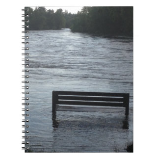 Flooded river notebook