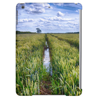 Flooded Tractor Tracks iPad Air Cases