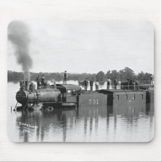 Flooded Train, 1904 Mouse Pad