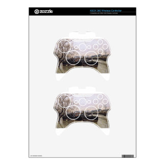 Flooding by the Seine by Frits Thaulow Xbox 360 Controller Decal
