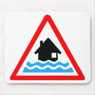 Flooding Warning Mouse Pad