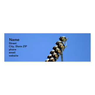Floodlight Double-Sided Mini Business Cards (Pack Of 20)