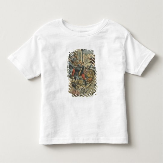 Floods, rescuing a paralytic toddler t-shirt
