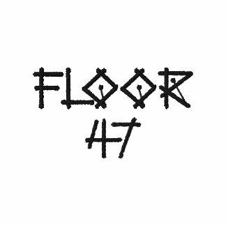 FLOOR 47 embroidered tee
